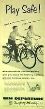 1955 New Departure Bicycle, Bike Coaster Brake Kids Ad