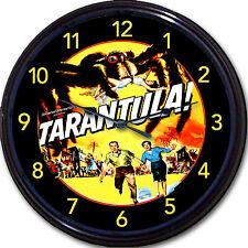 "Tarantula Sci Fi Horror Movie Wall Clock Giant Spider Bug Retro Classic 10"""