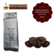 Caffè in Grani Santos Brasile Guaxupè Dulce 500 gr Caffè Monorigine Arabica 100%