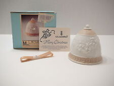 Lladro 1989 Limited Christmas Tree Bell Ornament Boxed Musical Angels Spain