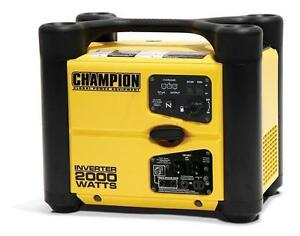 Champion Power Equipment 73536I 2000 Watt Gas-Powered Portable Inverter...