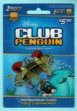 DISNEY CLUB PENGUIN ( Canada ) Lenticular 2010 Gift Membership Card ( $0 ) (1/2)