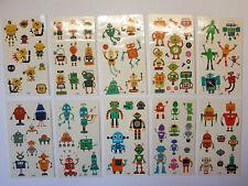 10 Bögen Roboter Tattoos temporär Kinder tatu technik jungen Kindertattoo