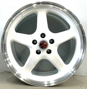 """walkINSHAW Style 20"""" Wheels and Tyres to fit most holden  SET OF 4 WHITE"""