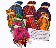 Worry Dolls in Bags Wholesale of 25 Guatemalan Handmade Fair Trade Trouble Dolls