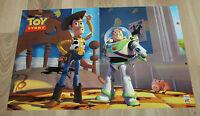 Nintendo SNES Toy Story very rare small Poster 42x28cm