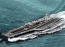 Trumpeter Tp5753 Nave USS D.eisenhower Cvn-69 1978 Kit 1 700 Modellino