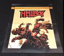 HELLBOY POSTER Dark Horse Promotional Mike Mignola RETAILER EXCLUSIVE HTF 18x24