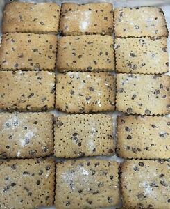 16 XL Fresh Homemade Sugar Free Chocolate Chips Shortbreads