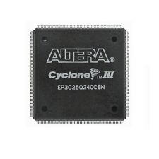 IC FPGA Cyclone III Halbleiter EP3C25Q240C8N PQFP240 Altera Integrated Circuit