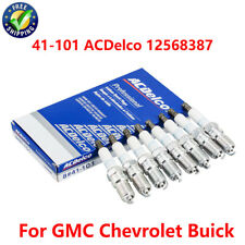 NEW 41-101 ACDelco 12568387 Iridium Spark Plugs Set Of 8 For GMC Chevrolet Buick