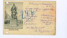 Berlin, Germany Gertraudten Bridge used postcard 1899
