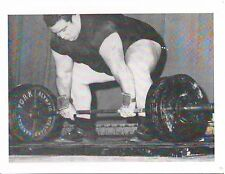 Weightlifting Photo Strongman Olympics Paul Anderson Bodybuilding Muscle B&W #16
