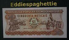 Mozambique 50 Meticais 1986 UNC P-129b