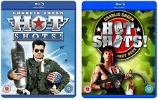 Hot Shots! 1&2 Two Movie Bundle Blu-Ray BRAND NEW Free Ship