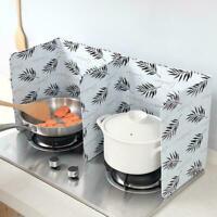 Kitchen Folding Cooking Oil Splash Screen Cover Anti Shield Splatter Stove T2C0