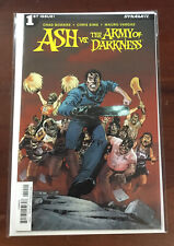ASH vs ARMY OF DARKNESS #1 Cover B Brown Bruce Campbell, 2017 1st Issue