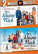 DER KLEINE NICK/DER KLEINE NICK MACHT FERIEN 2 DVD NEU