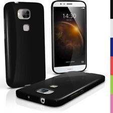 Carcasas, cubiertas y fundas negros de plástico para tablets e eBooks Huawei