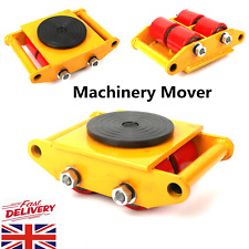 More details for 6t machinery dolly skate roller machinery mover rotating roller machine skate