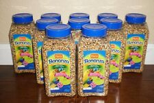 (Lot of 10) 24 oz Hartz Bonanza Canary & Finch Diet - Health & Vitality Blend