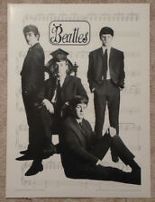 Beatles 1982 Heavy Stock Poster Silver Screen Astrid Kirshnerr Photo