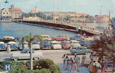 Famous Pontoon Bridge, Governor's Residence, Curaçao, West Indies 1967 Postcard