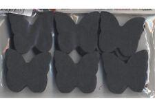 Confettis papillons en papier de soie ignifugé noir 50 grammes fabrication franç