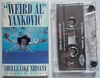 WEIRD AL YANKOVIC - SMELLS LIKE NIRVANA / WAFFLE KING - Cassette Single 1992