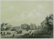 HANNOVER - Herrenhäuser Allee - W. Kretschmer - Tonlithografie 1860