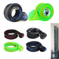 35mm 170cm Expanable Fishing Mesh Wrap Casting Rod Sleeve Cover Pole Glover Tip