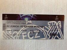 Ticket CL 11/12 FC Zürich - Bayern München