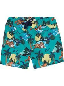 Kenzo Hawai Tiger Print Boys Swimshorts 14 Years New Swimming