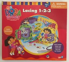 Dora The Explorer Lacing 1-2-3 activity Set Builds Coordination learning game