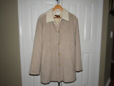 Torras 100% Cashmere Genuine Shearling Leather Beige Jacket 40 US 50 EUR Mens