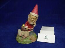 Vintage Tom Clark & Tim Wolfe Gnome SHHH! #6313 Edition #10 Cairn Studios 1994