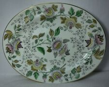 WEDGWOOD china AVON MULTICOLOR W3983 pattern Oval Serving Platter - 15-1/8""
