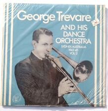 Sealed GEORGE TREVARE AND HIS DANCE ORCH: Sydney Australia Vol. 2 LP RAD-1