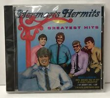 "HERMAN'S HERMITS (1988 CD) ""GREATEST HITS"" NEW SEALED"