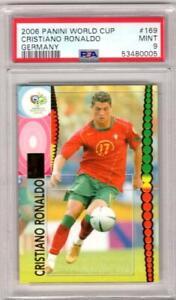 2006 Panini World Cup Cristiano Ronaldo Germany #169 PSA 9 W10