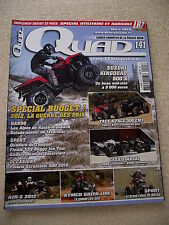 QUAD PASSION Magazine  n° 141 MASAI S600 CROSSOVER / A800i ULTIMATE.+ Supplément