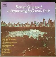 Barbra Streisand - A Happening In Central Park - LP record and cover excellent