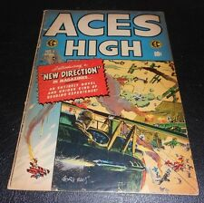 ACES HIGH #1 Wally Wood Jack Davis Bernie Krigstein George Evans Art! EC 1955