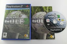 PLAY STATION 2 PS2 OUTLAW GOLF 2 COMPLETO PAL ESPAÑA