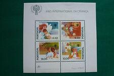 LOT 736 TIMBRES STAMP BLOC FEUILLET L'ENFANT PORTUGAL ANNEE 1979