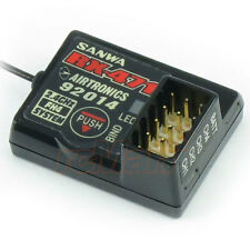 Sanwa 4 channel 2.4GHz Receiver EP 1:10 RC Car On Off Road Crawler Drift #RX-471