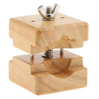 Screw Large Double Sided Wood Watch Case Clamp Movement Holder Watch Tool