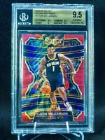 Zion Williamson RUBY RED WAVE Select Prizm #1 BGS 9.5/PSA 10 LOW POP SSP🔥WOW‼️