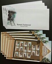 2009 Malaysia Traditional Houses Blank FDC x1 Lot of 4 covers