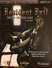 RESIDENT EVIL REMAKE BRADYGAMES OFFICIAL STRATEGY GAME GUIDE + POSTER